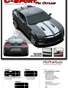 Chevy ss rs camaro  sport pin vinyl graphics kits decals also oem factory style rh moproauto