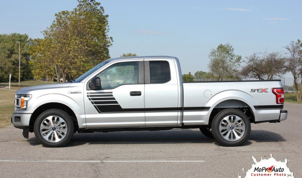 Speedway Ford -150 Stripes Decals Special Edition Lead