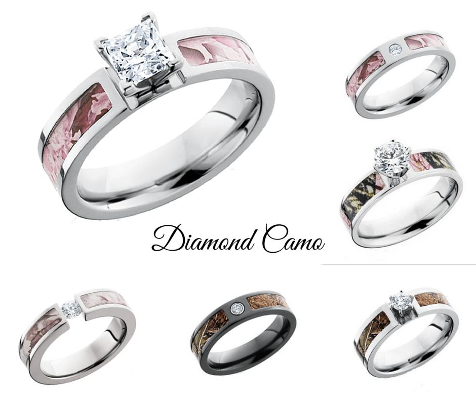A Country Girls Camo Wedding Ring Options CAMOKIX