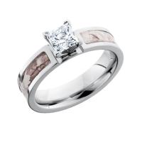 Snow Camo Diamond Engagement Ring | Free Shipping | CAMOKIX