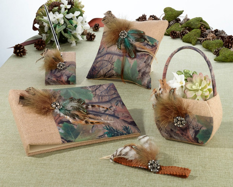 Camouflage Wedding Accessories Collection CAMOKIX