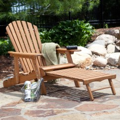 Big Daddy Adirondack Chair Childrens Outdoor Table And Chairs Oversized Classic With Pull Out Ottoman