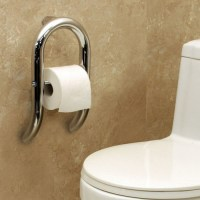 Toilet Paper Holder + Integrated Grab Bar | Invisia Collection
