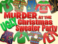 Murder at the Ugly Christmas Sweater Party | My Mystery Party