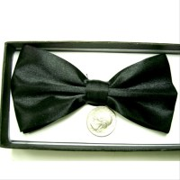 Black and White Checkered Bow Tie - The Costume Shoppe