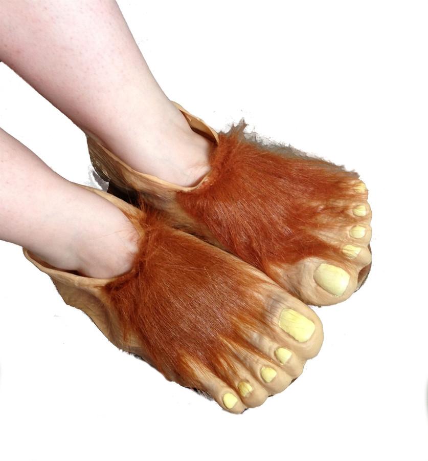 children's hobbit feet - costume