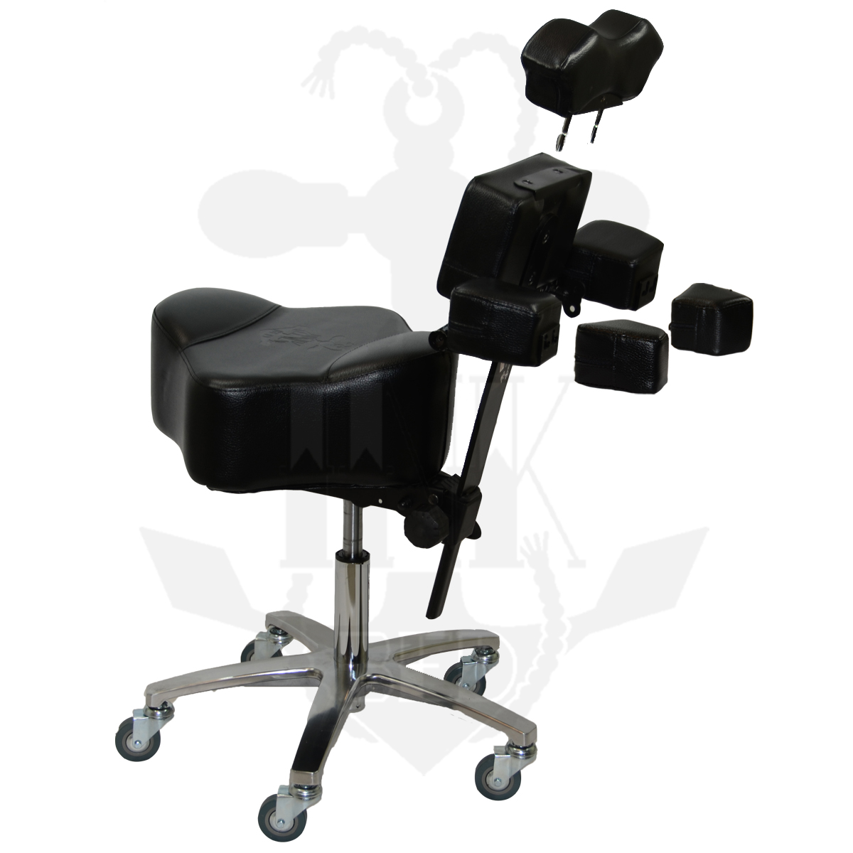 tattoo artist chair wedding covers and bows inkchair inkstool deluxe ergonomic client