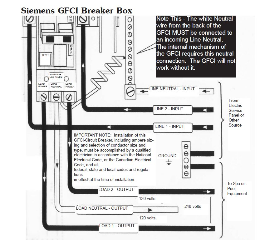 hot tub wiring diagram canada alpine type r electrical installation hookup gfci