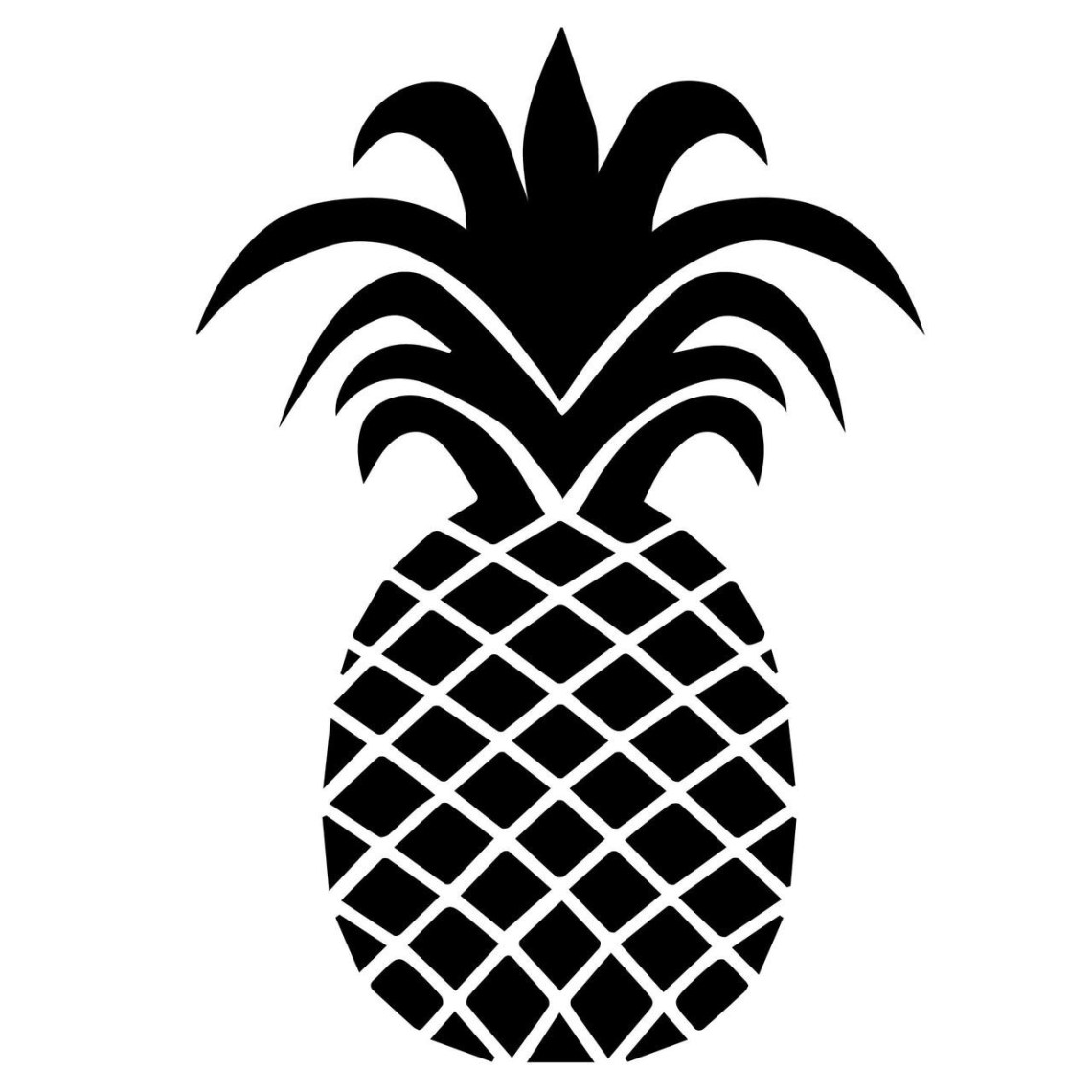 Download Pineapple SVG Cut Files | Craftables
