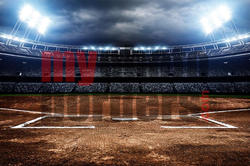 Digital Sports Background American Softball
