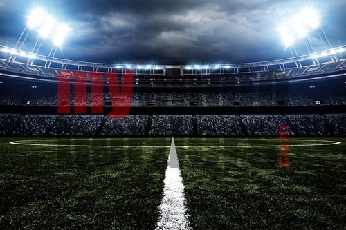 Digital Sports Background American Soccer