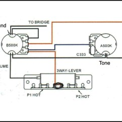 Simple Guitar Pickup Wiring Diagram 2002 Jetta Cooling Fan Basic 3 Way Toggle Switch C B Gitty