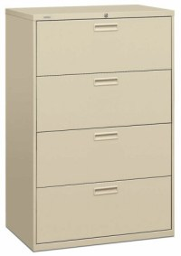4 Drawer Lateral Filing Cabinet - HON 4 Drawer Lateral ...