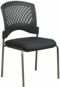 Stackable Chairs - Office Star Armless Plastic Stackable ...