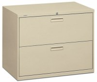"HON Lateral File Cabinet - 36"" 2 Drawer HON Lateral File ..."