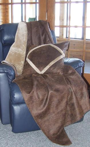 Buy Crocodile Faux Leather Throw Blanket  Blanketscom