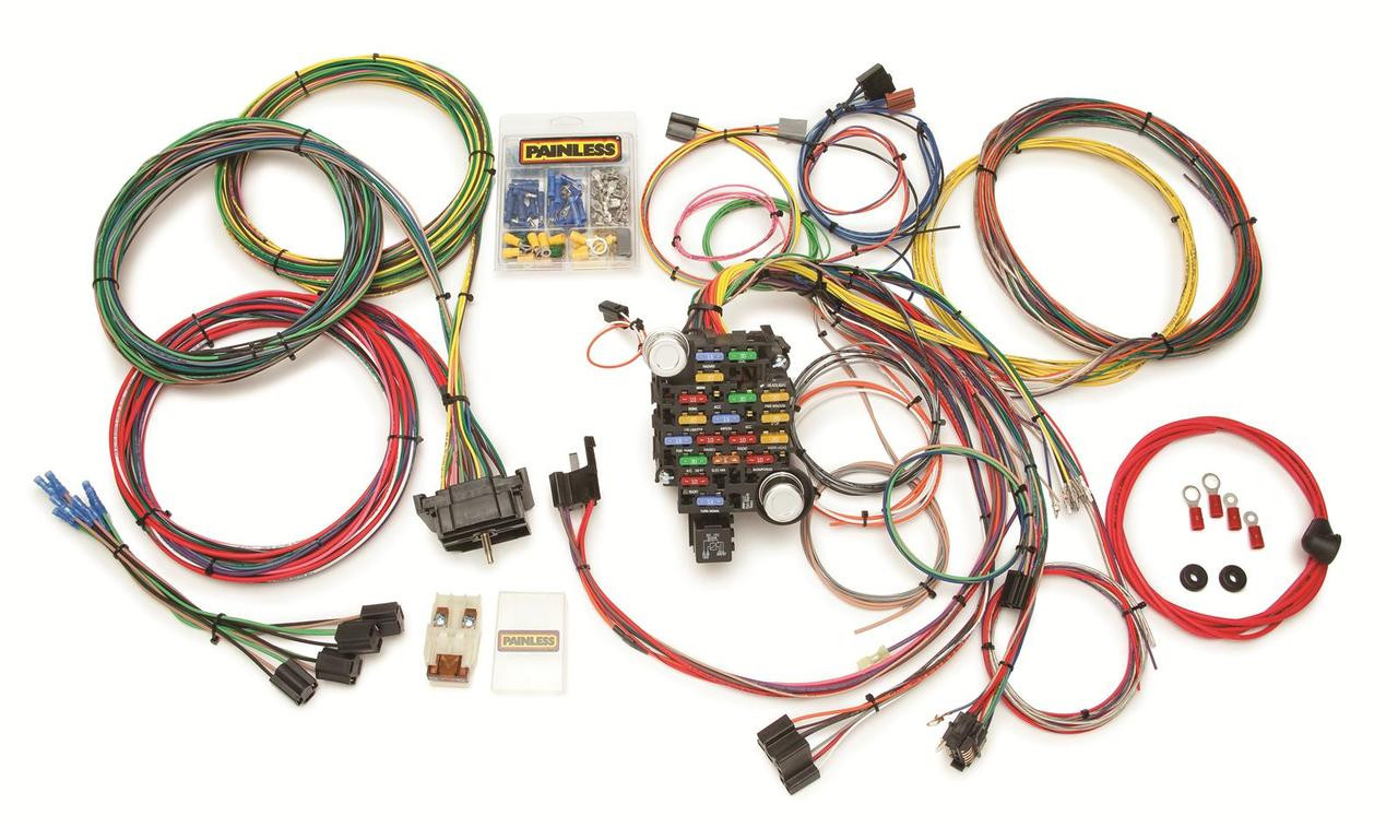 medium resolution of 73 87 c10 wiring kit painless rh stores lsxeverything com engine control module wiring harness connector