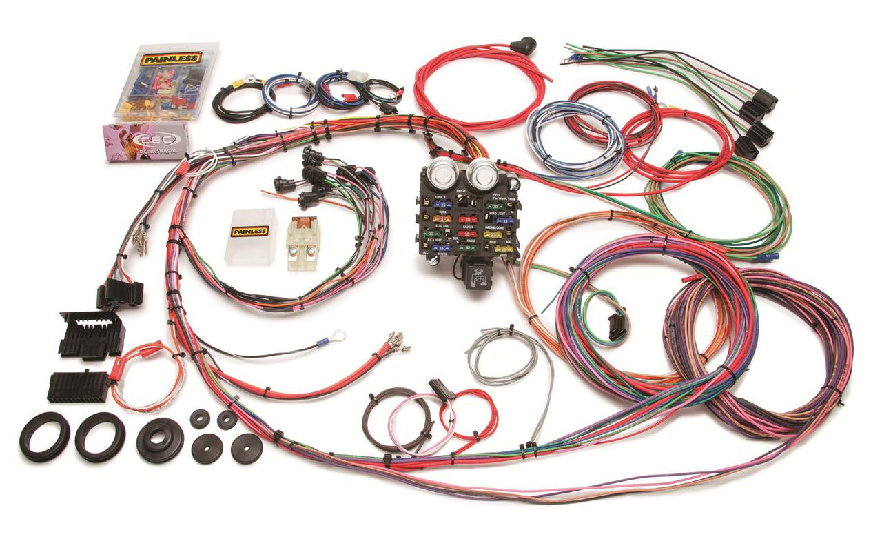 Painless Wiring Harness  19631966 Chevy Truck | 19 Circuit  LSx Everything