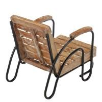 Kids Wood Slat Patio Lounge Chair (JA-CH-WS-KD) - Joseph Allen