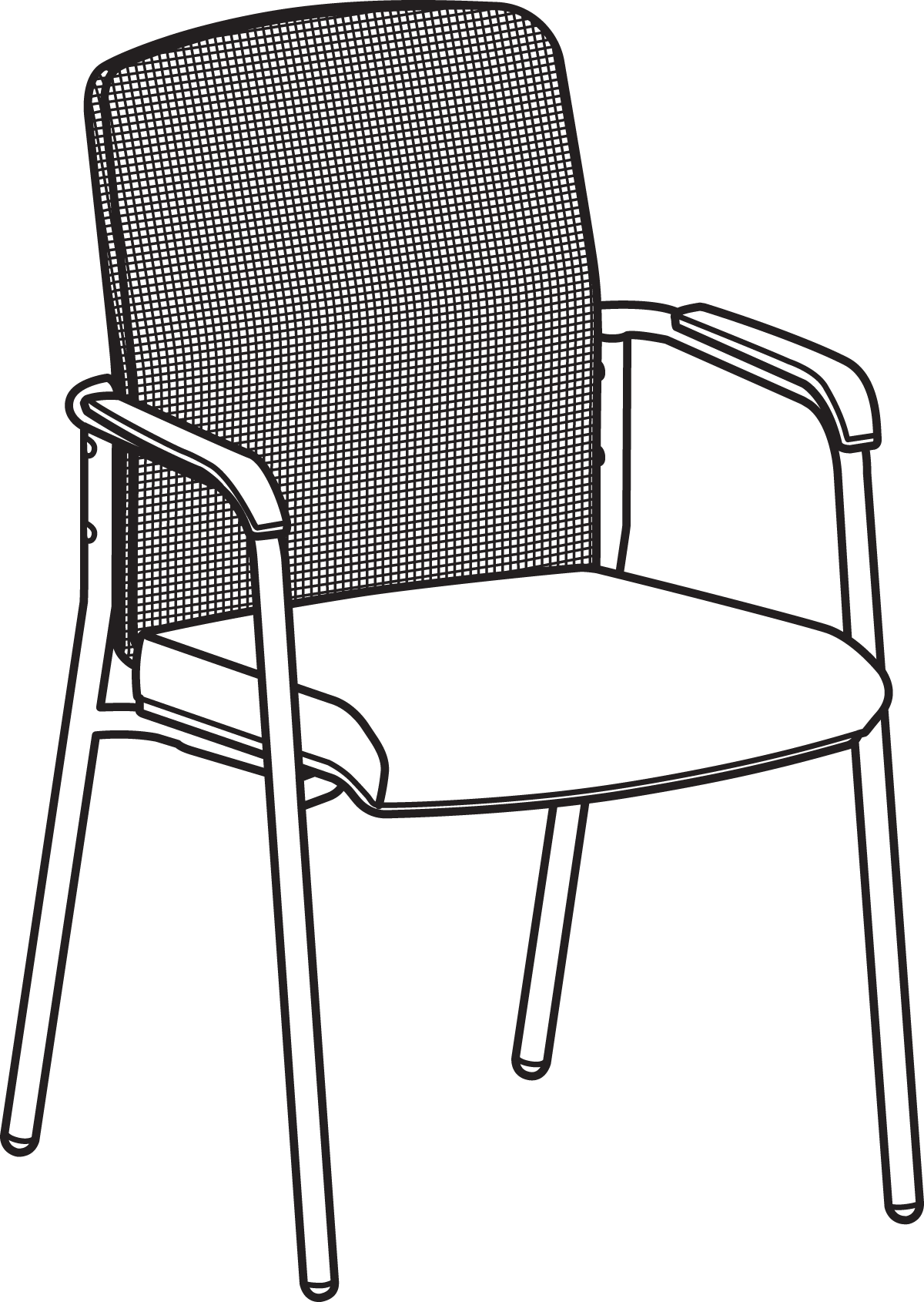lifetime stacking chairs 2830 black molded seat patio chair replacement parts hon mesh back multi purpose officechairsusa