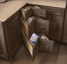 Base Corner Drawer Cabinet Cardell Cabinetry