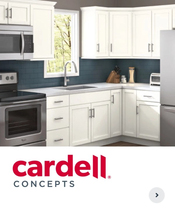 White Kitchen Cabinets At Menards: Menards Cardell Cabinets