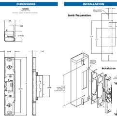 Hes 9600 Wiring Diagram Stihl Bg 85 Parts Folger Adam Electric Strike Rutherford ...