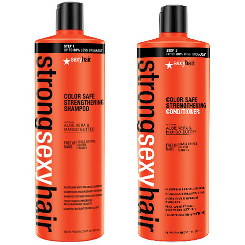 Strong Sexy Hair Color Safe Strengthening Shampoo And