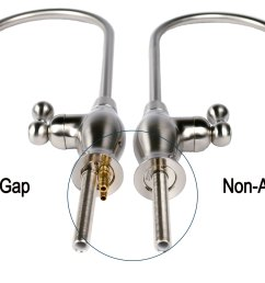 picture of an air gap faucet side by side a non air gap faucet [ 1920 x 1081 Pixel ]