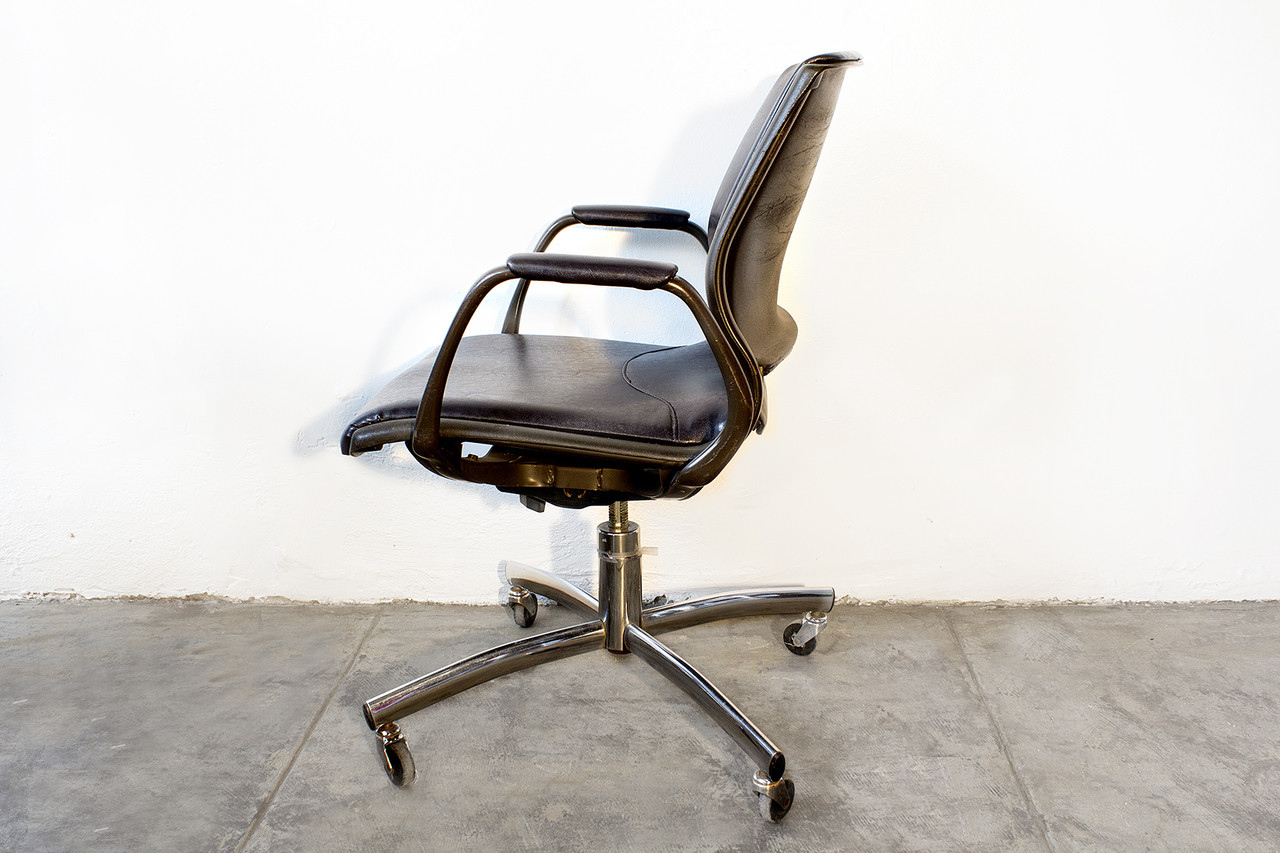 vintage steelcase chair comfortable living room chairs sold office refinished rehab