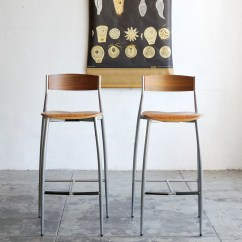 Design Within Reach Chair Walnut Office Adjustable Height Sold Baba Barstools And