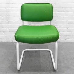 Chromcraft Chairs Vintage Folding Chair Toronto Sold Set Of Two Cantilever Rehab