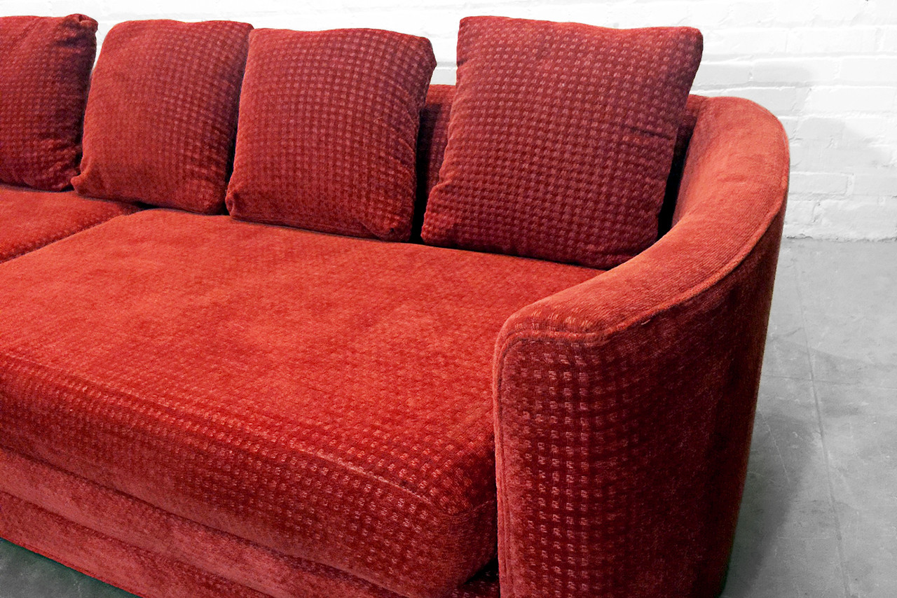Rust Colored Sofa Cort Indianapolis Ryder Sofa And