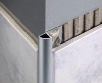 Aluminium Quadrant Corner Edge Tile Trim