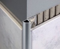 Aluminium Quadrant Corner Edge Tile Trim - 2.5m - National ...