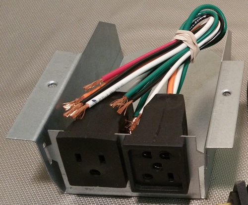 110v Receptacle Wiring Pigtail Motor Receptacle 7584 Indoor Comfort Supply