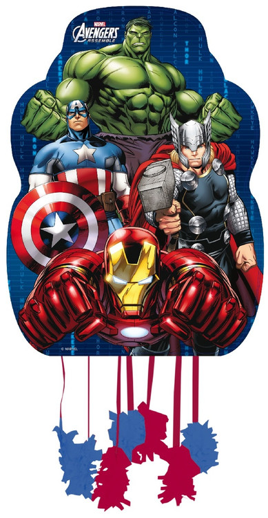 Childs Marvel Avengers Party Pinata Fancy Me Limited