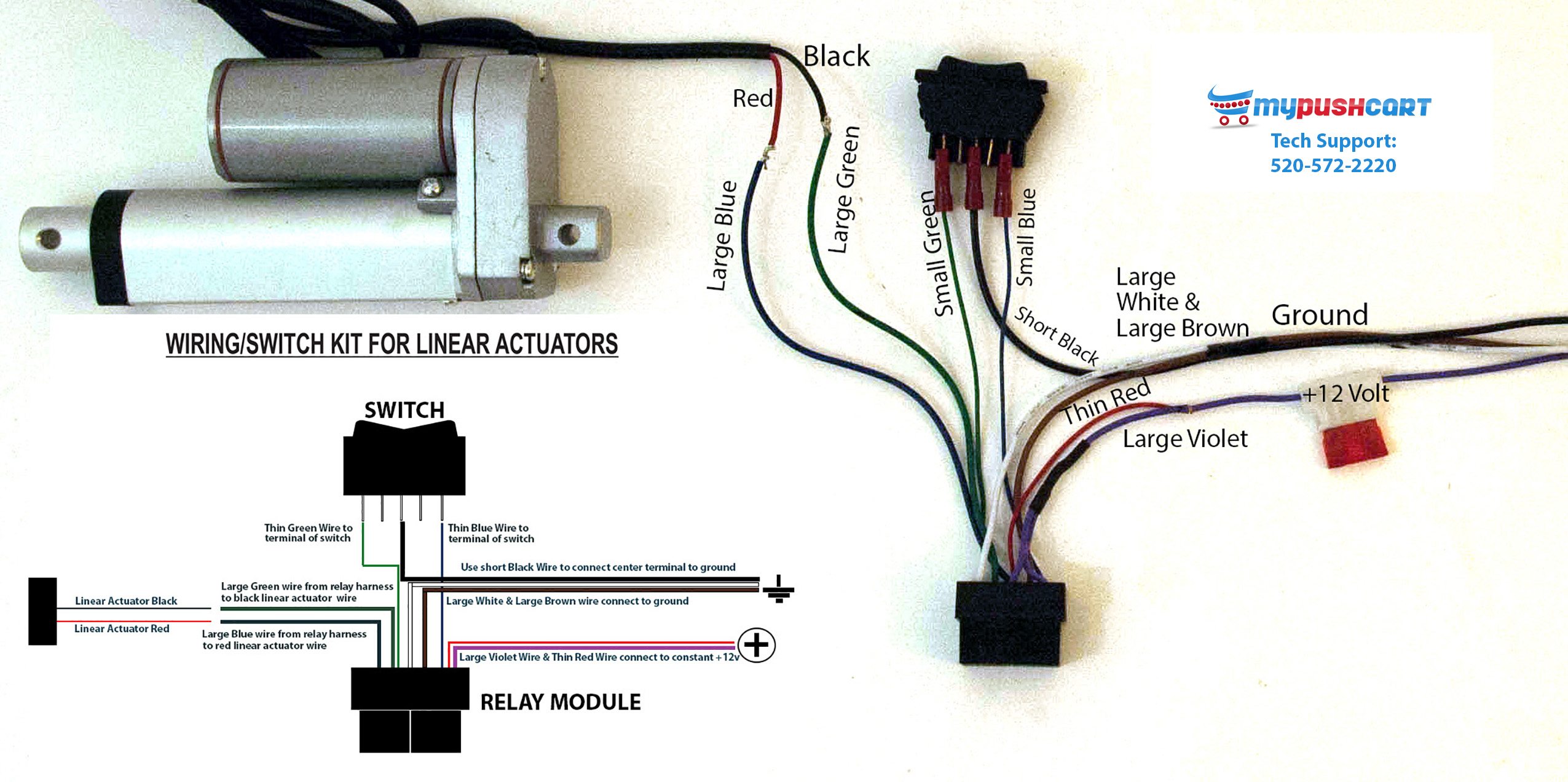 linear actuator wiring diagram sankey for solar power din plug get free image