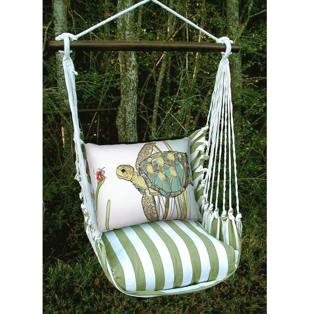 hanging chair big w red heel sea turtle hammock swing magnolia casual