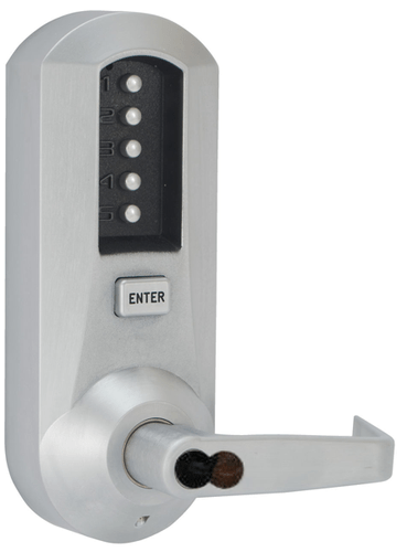 Kaba Simplex 5021SWL2641 Mechanical Pushbutton Lever