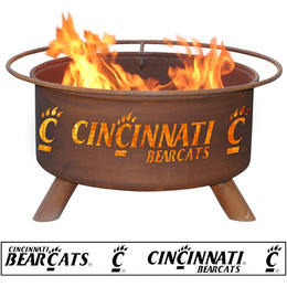 Steel Collegiate Fire Pits By Patina Products