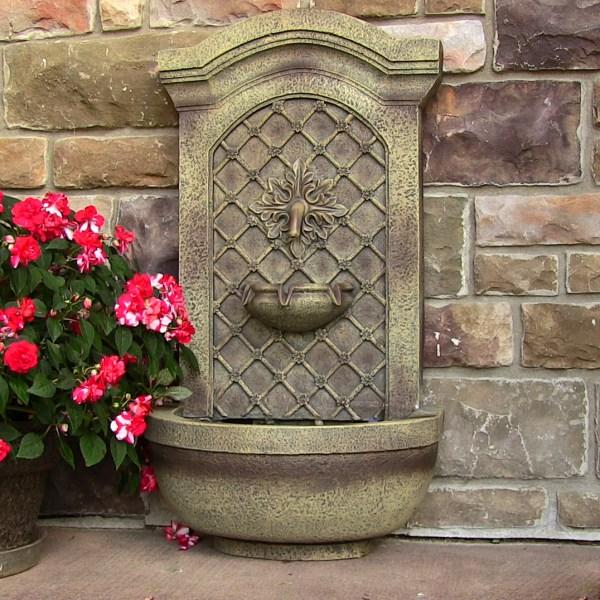 Solar Outdoor Wall Fountains