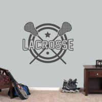 Lacrosse Wall Decals Wall Decor Stickers