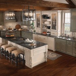 Roll Up Cabinet Doors Kitchen Portable Islands With Seating 5 Most Popular Layouts - Kraftmaid