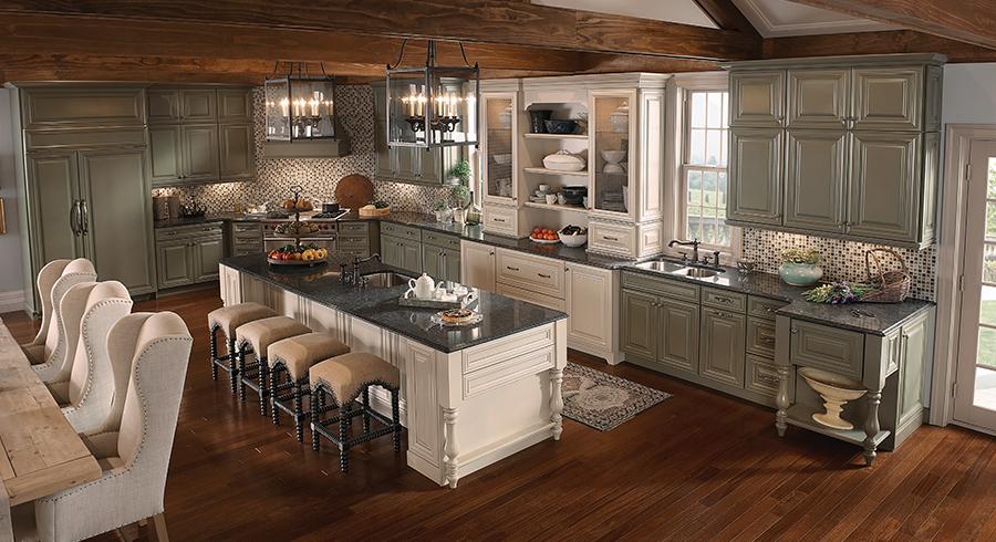 5 Most Popular Kitchen Layouts  KraftMaid