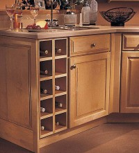 Base Wine Rack Cabinet - KraftMaid