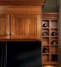 Wall Wine Rack Cabinet - KraftMaid