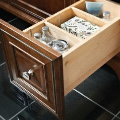 Kitchen Cabinet Parts Homemade Cabinets Vanity Adjustable Drawer Dividers - Kraftmaid
