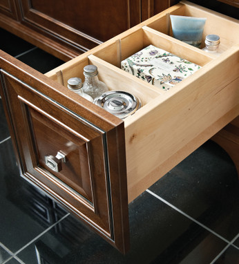 kitchen cabinet parts design a island vanity adjustable drawer dividers - kraftmaid