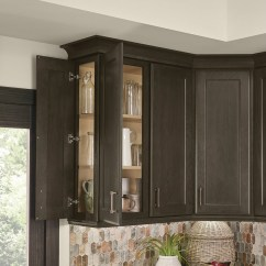 Order Kitchen Cabinets Online Single Bowl Cast Iron Sink Wall Front- And Side-access Door - Kraftmaid